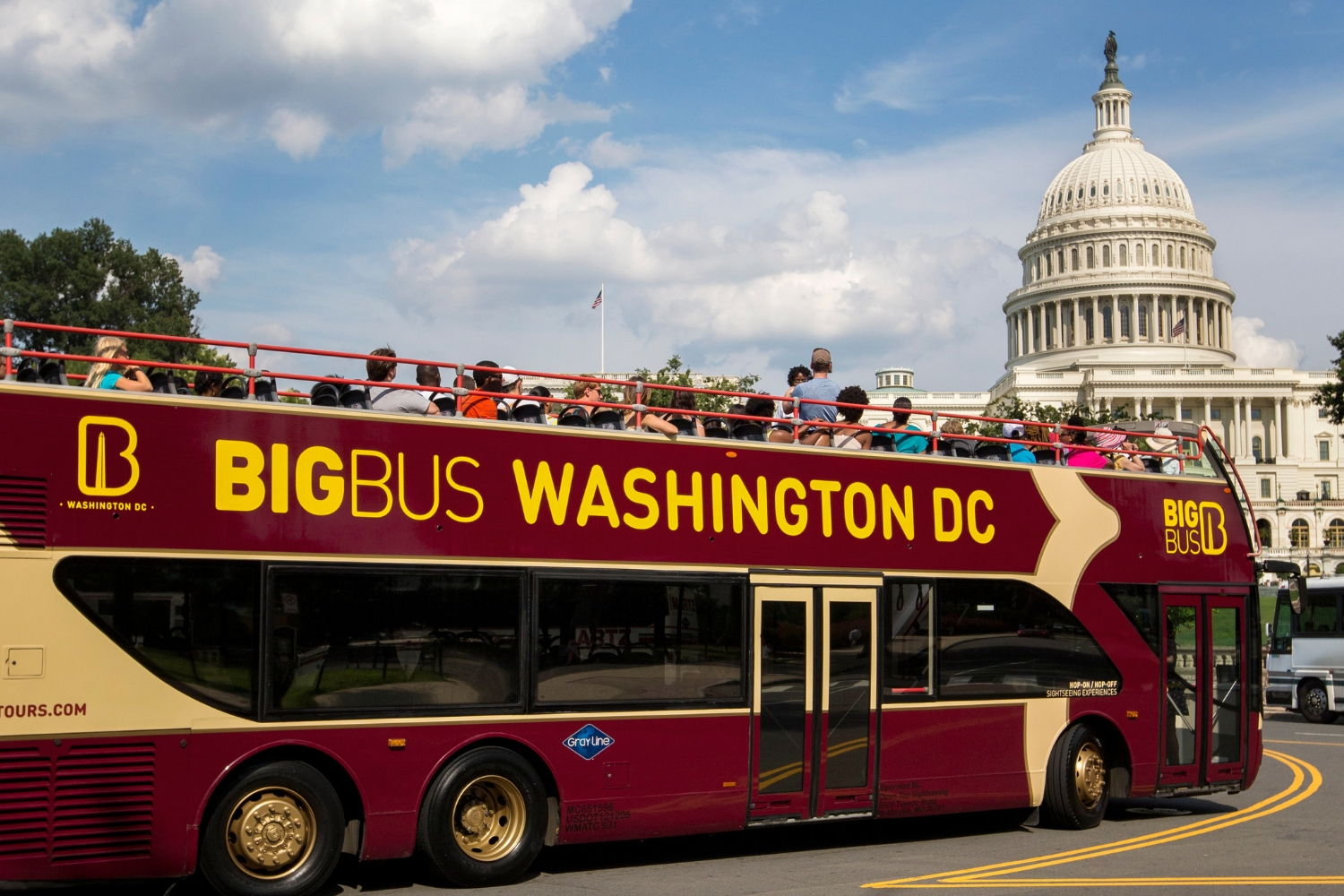 Big Bus Washington DC | The Sightseeing Pass